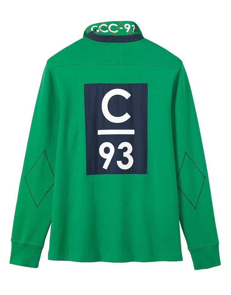 Buy our Men's Crew Club Aldeburgh Long Sleeve Rugby for £60 available in Jolly…