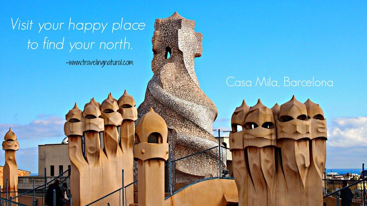 On of my favorite places in Barcelona, Casa Mila :) TravelingNatural | http://travelingnatural.com