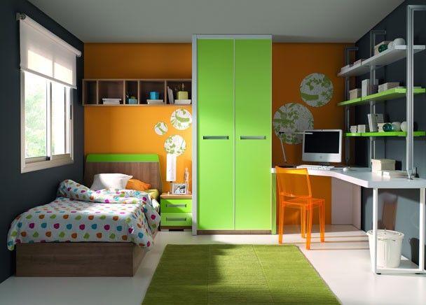Mejores 182 im genes de mobiliario juvenil tonos verdes en for Mobiliario de habitacion