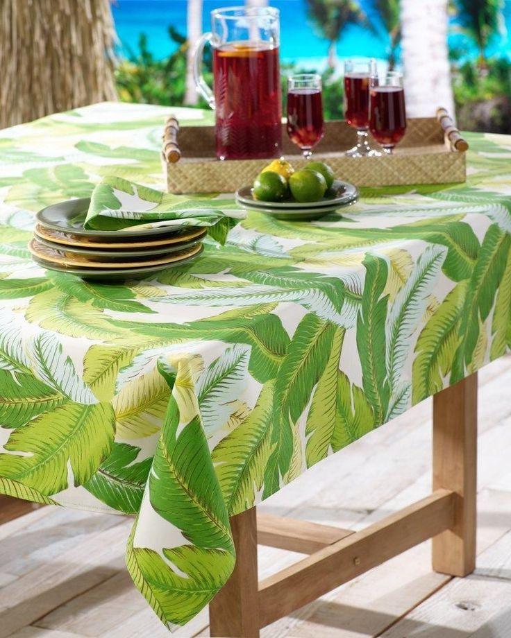 50 best images about hawaiian tablecloths on pinterest - Tischdecke outdoor ...