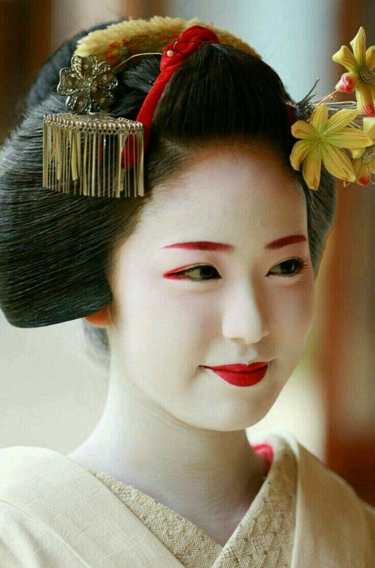 geisha makeup ideas