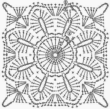 Diagram 1000 Images About Squares Coaster Quadradinhos