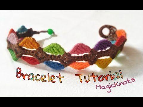 Macrame Colorful Bracelet ♥ DIY ♥