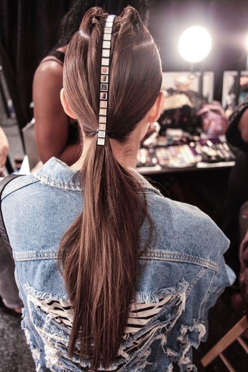 Love the CZAR by Cesar Galindo Spring/Summer 2014 hair....