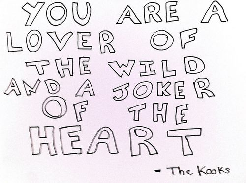 CAN WE ALL STOP A SEC AND TRULY APPRECIATE THESE MUSICAL GODS, THE KOOKS. I LOVE THE SONGS AND THE LYRICS AND THE EMOTION. THIS IS REAL MUSIC people.