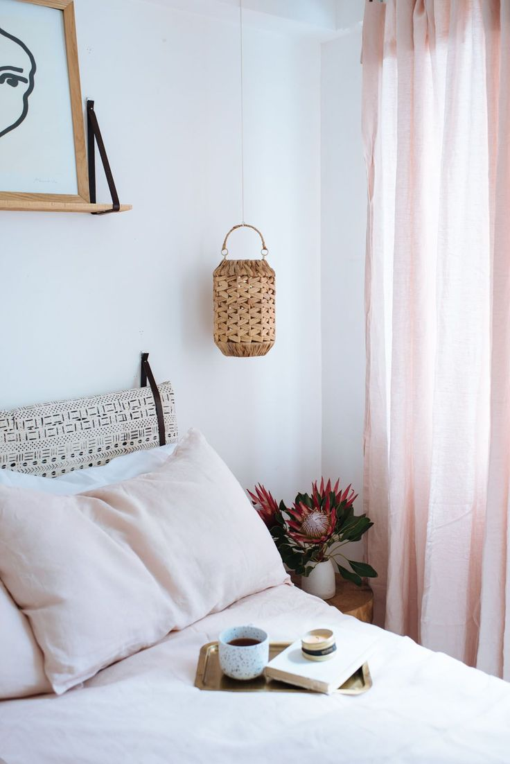 DIY Linen Curtains (No Sewing Required!)