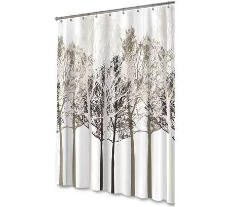 Walmart FOREST BEIGE PEVA Shower Curtain - Forest Beige $12.97