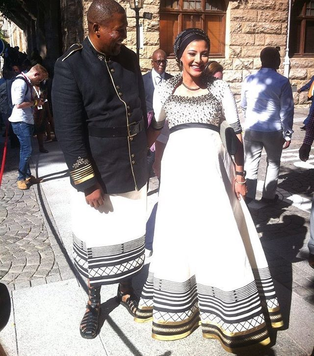 Chief Mandla Mandela and his pregnant wife Rabia Clarke looked stunning on the #SONA2017 red carpet   via MARIE CLAIRE SOUTH AFRICA MAGAZINE OFFICIAL INSTAGRAM - Celebrity  Fashion  Haute Couture  Advertising  Culture  Beauty  Editorial Photography  Magazine Covers  Supermodels  Runway Models