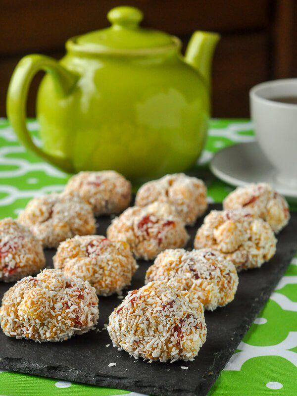 Cherry Marshmallow Balls
