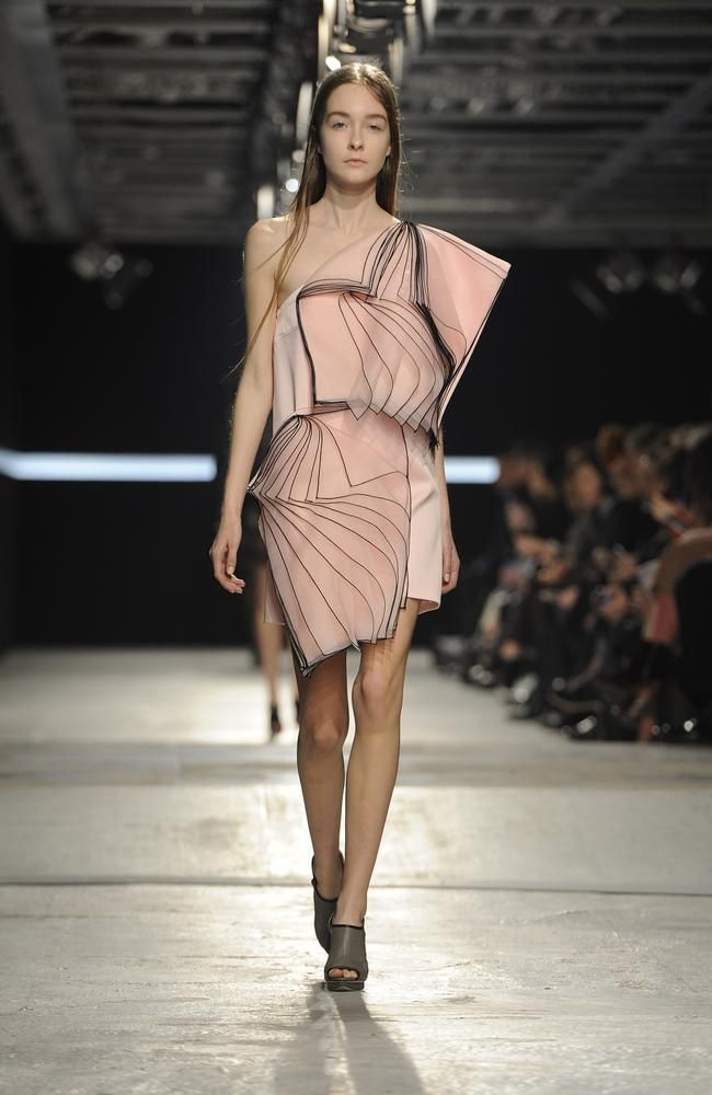 Christopher Kane - origami dress