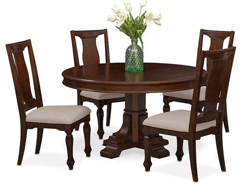 Value City Furniture Dining Room Sets. Old World Double Pedestal ...