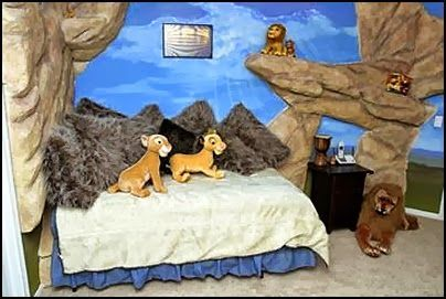 teenage room lion out ofd wall 3d effect - Google zoeken