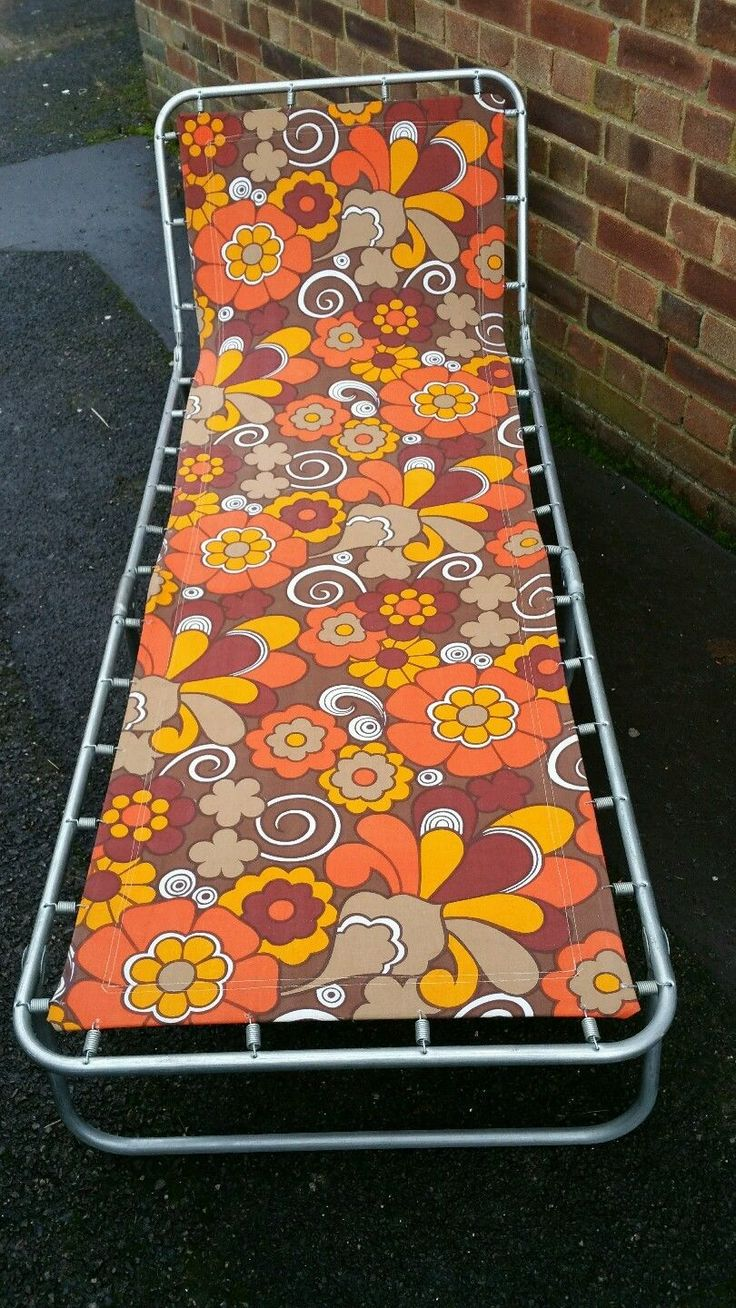 For sale.   Beautiful Retro Folding Sun Lounger.   Great vintage condition.   Comes with cover.   Cash on collection only from Crawley   Dan 07935978195 | eBay!