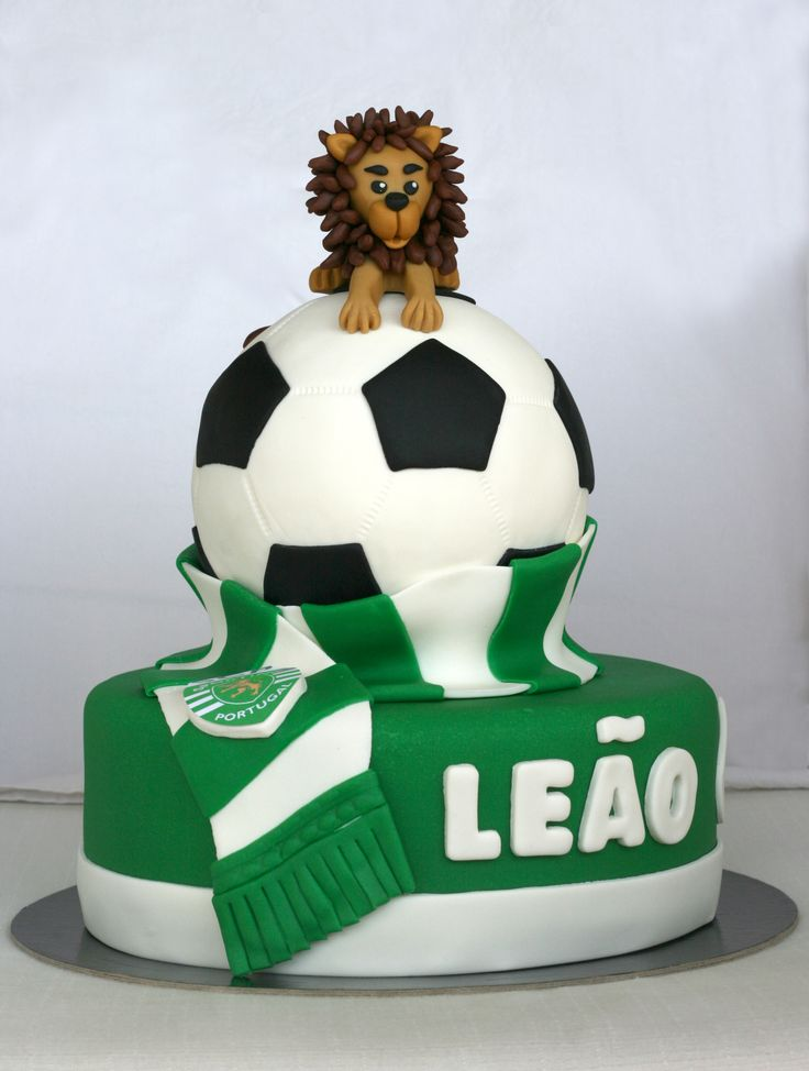 Sporting Club de Portugal cake for my dad's birthday
