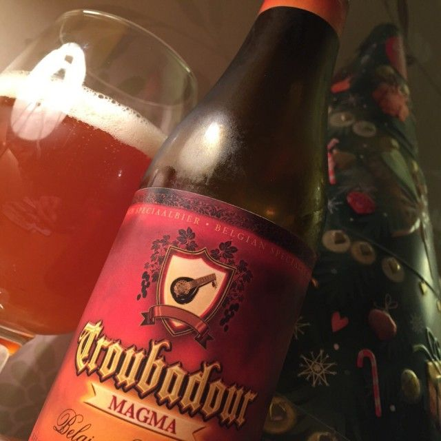 Simon is drinking a Troubadour Magma by Brouwerij The Musketeers (De Musketiers) on Untappd