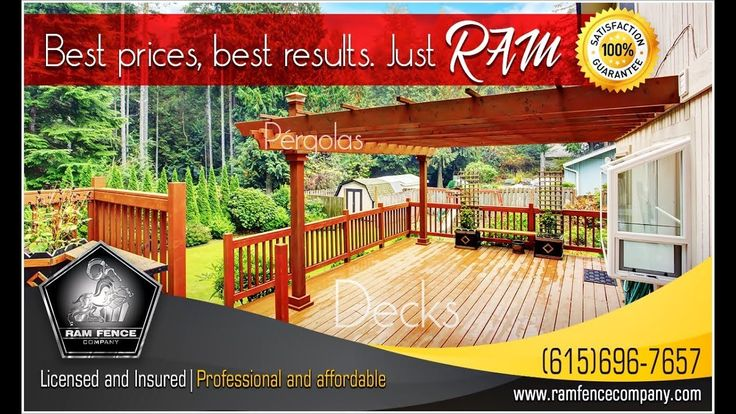 Best prices, best results. just RAM - Ram Fence Company