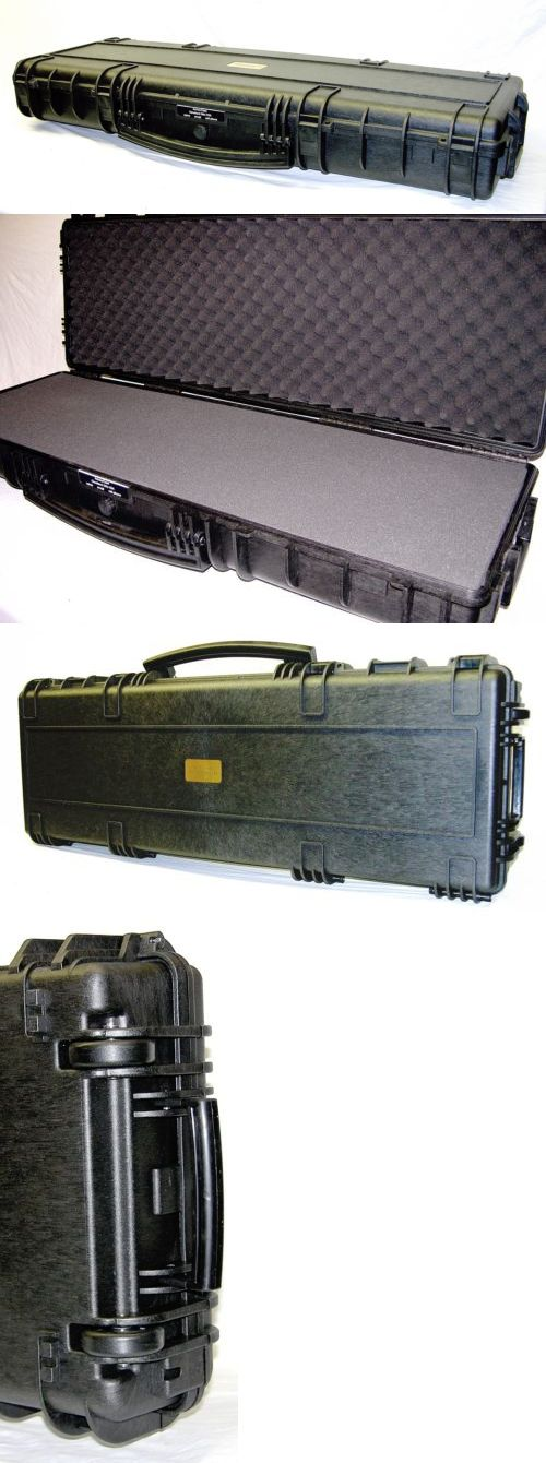 Cases 73938: Black Armourcase Rifle Gun Case Includes Foam And Pelican 1700 Case Lock+Nameplate -> BUY IT NOW ONLY: $165.32 on eBay!