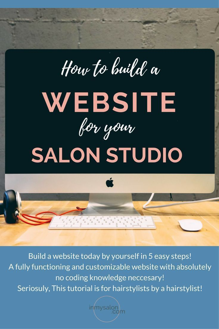 hairdresser resume%0A How to start a Website for your Salon Studio in   easy steps