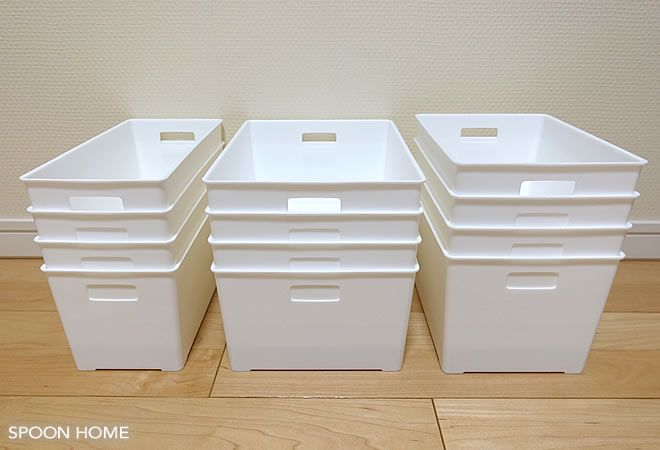 100均セリアの新商品「ライナケース(ライナーケース)」の使い方や収納アイデア、活用法をブログでレポートします!サイズは全部で3種類あり、白い収納ケースです。軽量で使いやすく、棚や引き出し収納におすすめ。