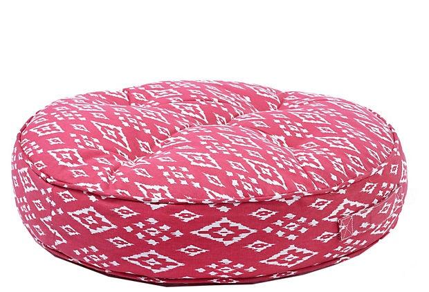 Pomegranate Tufted Floor Cushion