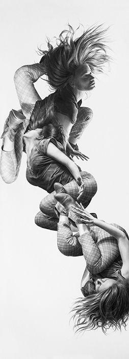 Les corps en mouvement de Leah Yerpe