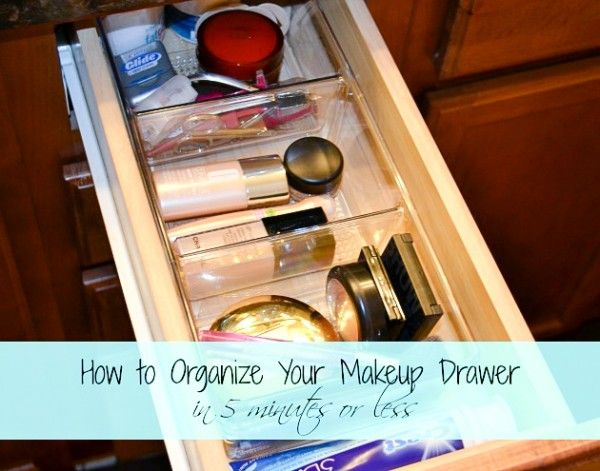 How To Declutter And Organize A Makeup Drawer