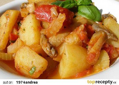Sicilské brambory recept - TopRecepty.cz