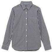 フレンチリネン洗いざらしスタンドカラーシャツ 婦人S・白 | 無印良品ネットストア