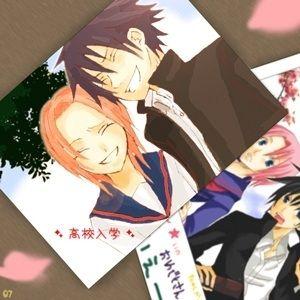Sakura e Sasuke depois da liberação dele. Perdição 1.
