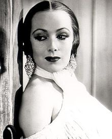 Dolores del Río (August 3, 1905 – April 11, 1983) was a Mexican film actress. She was a star of Hollywood films during the silent era and in the Golden Age of Hollywood.