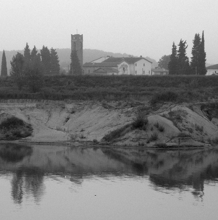 Lago artificiale.