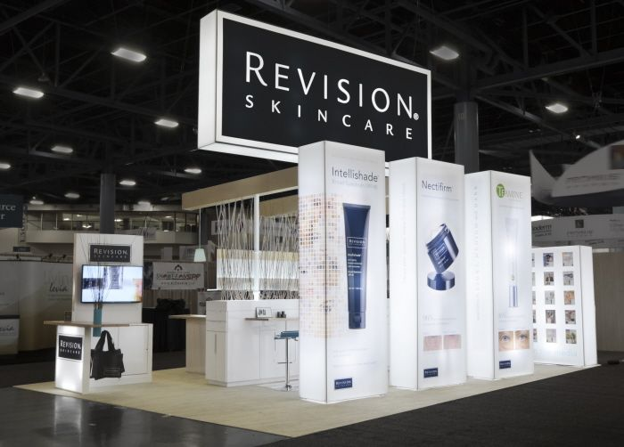 Revision Skincare Exhibit by nate nelson at Coroflot.com