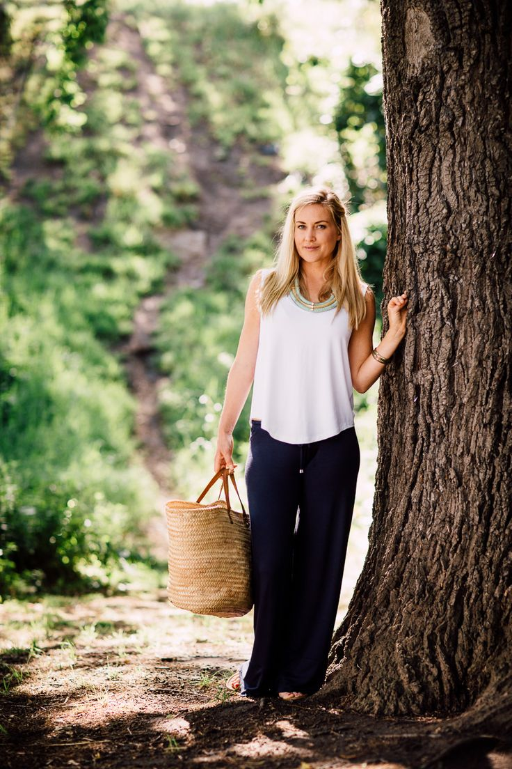 bamboo lounge pant and singlet tee. perfect to take in your hospital bag or at home with guests between feeds + sleeps xx