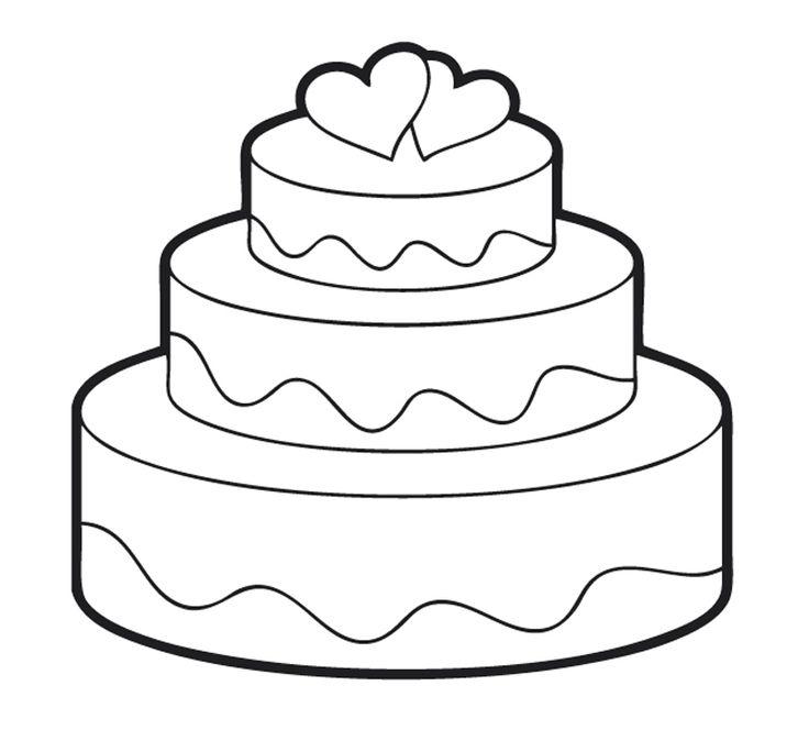 Hochzeitstortegif (800×733) Ausmalbilder hochzeit
