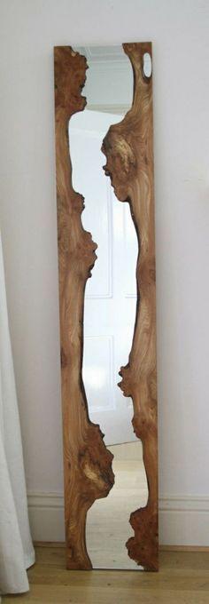 Treibholz Spiegel Mit Einem Klassischen Aussehen   Wunderbare Treibholz  Deko, Die Auch Praktisch Sein Kann