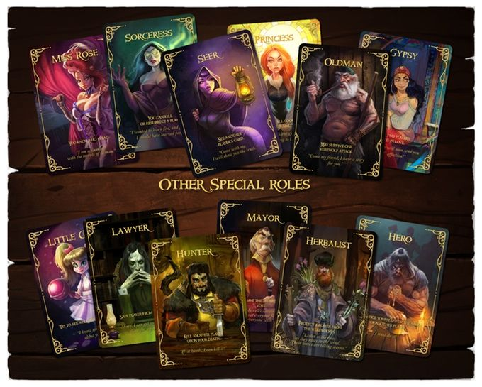 Wolfed (werewolf card game) by Nikolay Nedev — Kickstarter