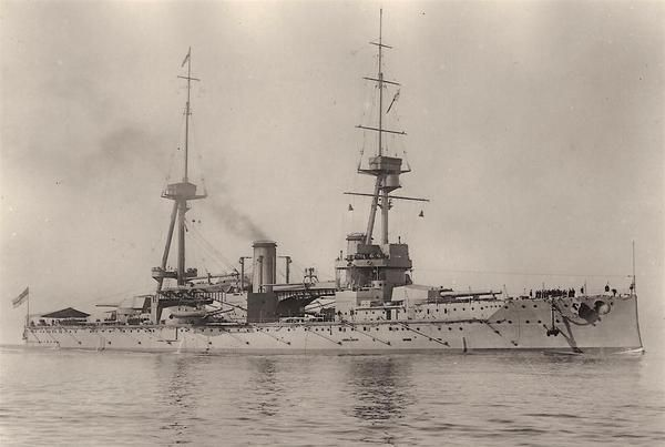 Jack Dusty Clothing and Lifestyle blog - The HMS Neptune at sea