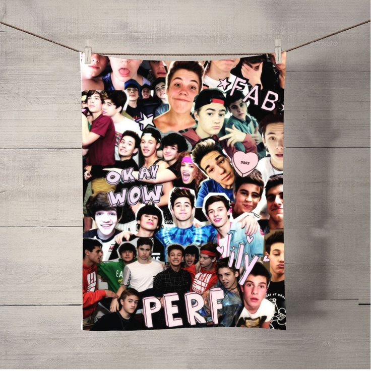 Magcon Family Collage Bath Towel Beach Towels