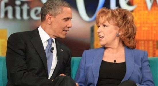 "Annoying Lib Joy Behar Defends Obama From Attacks After Going On The View, ""He'd Rather Talk To Me Than Netanyahu""… >> And that's the problem."