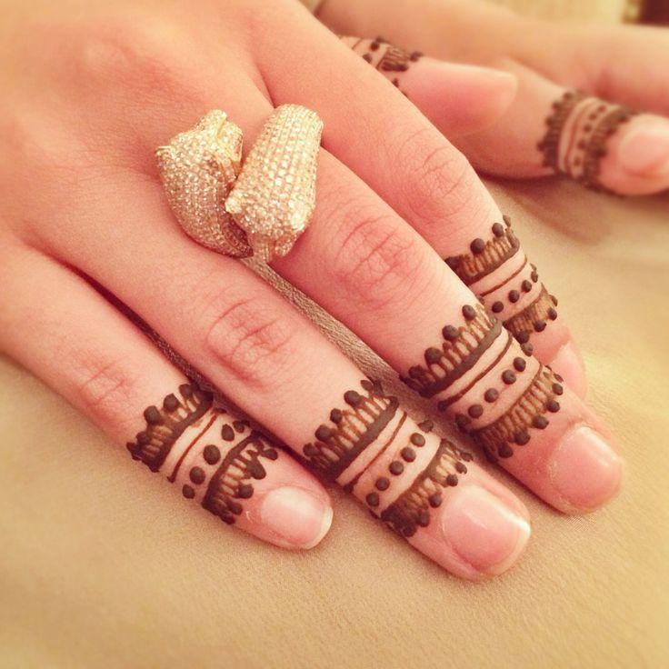 cute #design #finger #art plus ausm ring