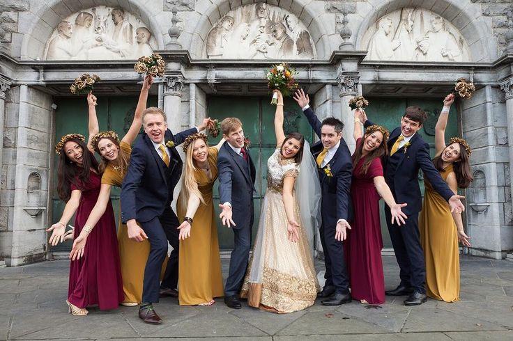 Love these autumn colours #weddingcolours #weddingphotography #irishwedding #venezuelanbride #elopementireland