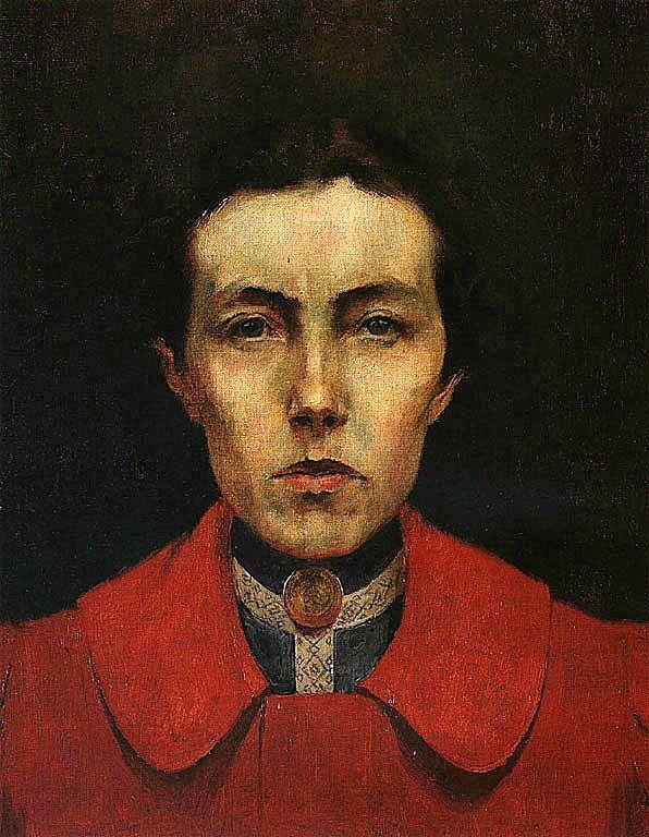 Self-portrait (Aurelia de Sousa) - Aurélia de Sousa – 1922