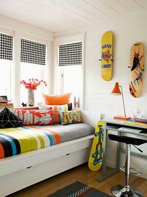 25 best ideas about skateboard bedroom on pinterest skateboard room boys skateboard room and - Skateboard themed bedroom ...