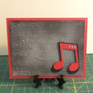 128 best card making musical birthdays images on pinterest music birthday card embossing foldercricutcopic spray gun and stamping bookmarktalkfo Images
