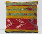 red floor pillow throw pillow case extra large pillow kilim pillow sets boho throw pillow modern cushion cover green kilim pillow sham 18390