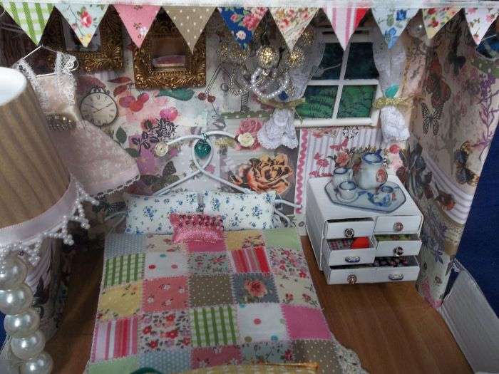 65 best shoe box images on pinterest egg cartons for Cath kidston style bedroom ideas