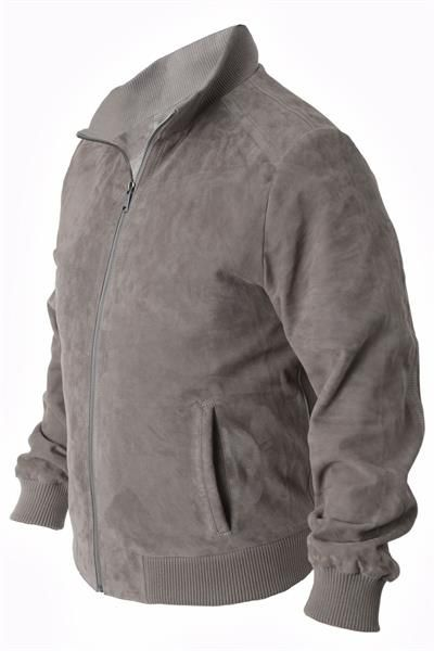 Замшевая куртка модели