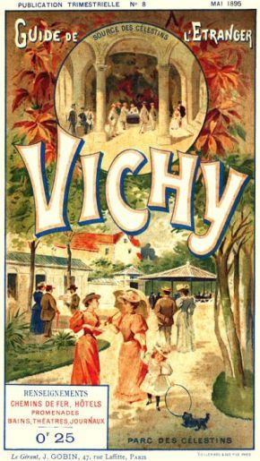 Art-Guide Vichy 1895 - Thermes Callou