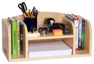Guidecraft Low Desk Organizer - Modern - Desks - Hayneedle