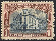 Postage stamps and postal history of Mexico - Wikipedia, the free encyclopedia